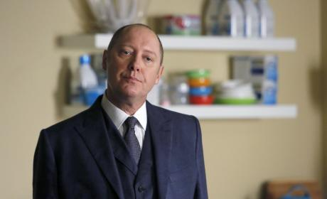 Red is not amused - The Blacklist Season 4 Episode 6