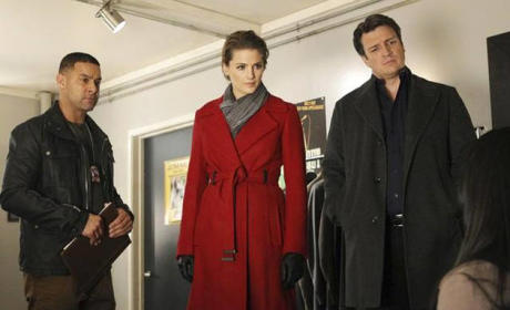 Choose your favorite of these coats and jackets belonging to Kate Beckett.