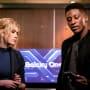 Mia Looks Annoyed - Arrow Season 7 Episode 16