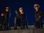 Green Arrow & The Canaries - Arrow Season 8 Episode 9