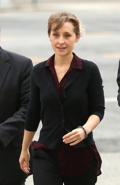 Allison Mack Attends Bail Hearing
