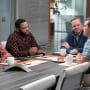 Drew Seeks Advice From The Guys At Work - black-ish Season 5 Episode 1