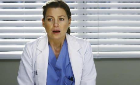Upset Meredith