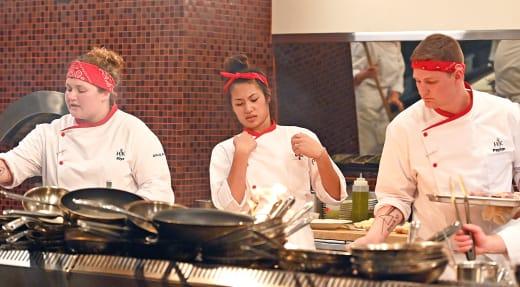 Brynn Calls the shots  - Hell's Kitchen Season 20 Episode 6