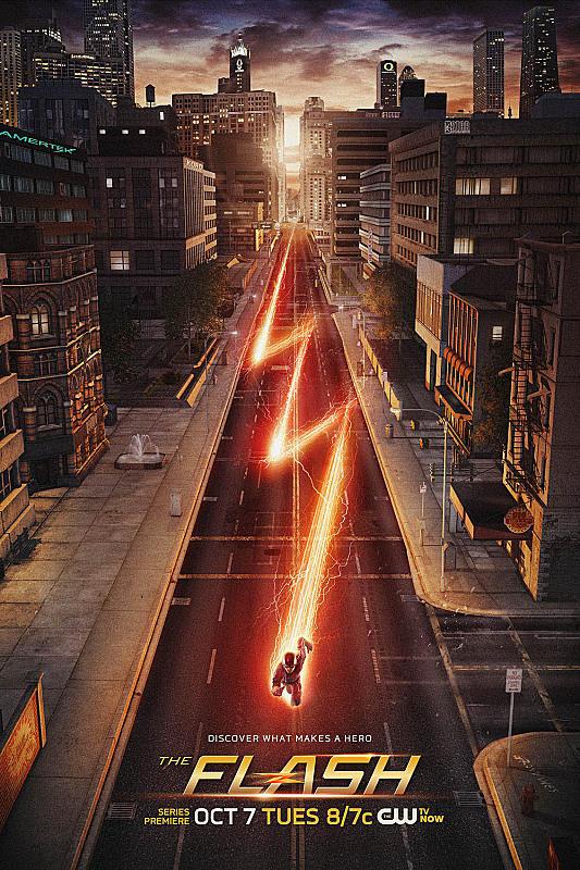 The Flash Season 1 Poster
