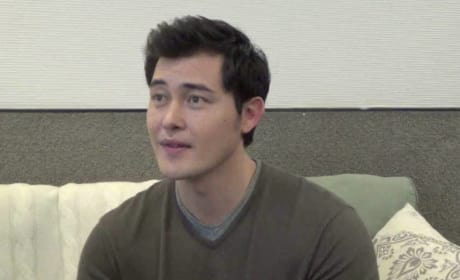Christopher Sean Set Interview