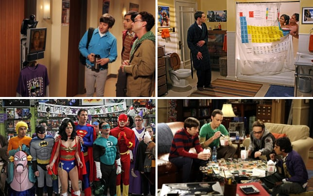 The big bang theory 13 rules from the roommate agreement robot clause