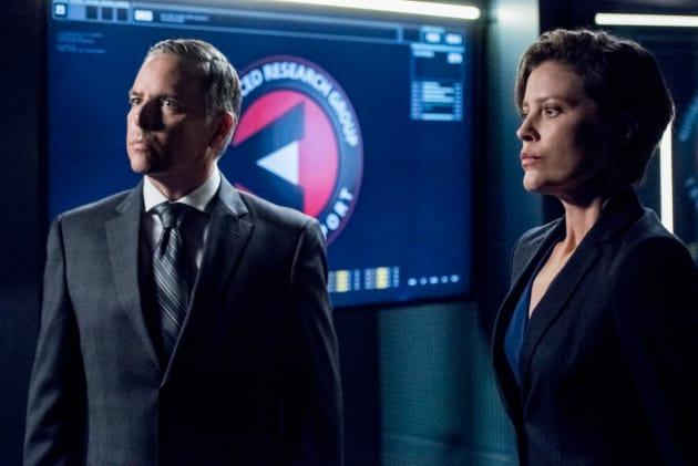 A.R.G.U.S.  - Arrow Season 7 Episode 10