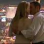 Jessica and Nathan share a kiss