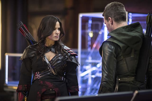 Angry Nyssa - Arrow Season 3 Episode 4
