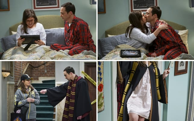 Sheldon has a special birthday gift for amy the big bang theory