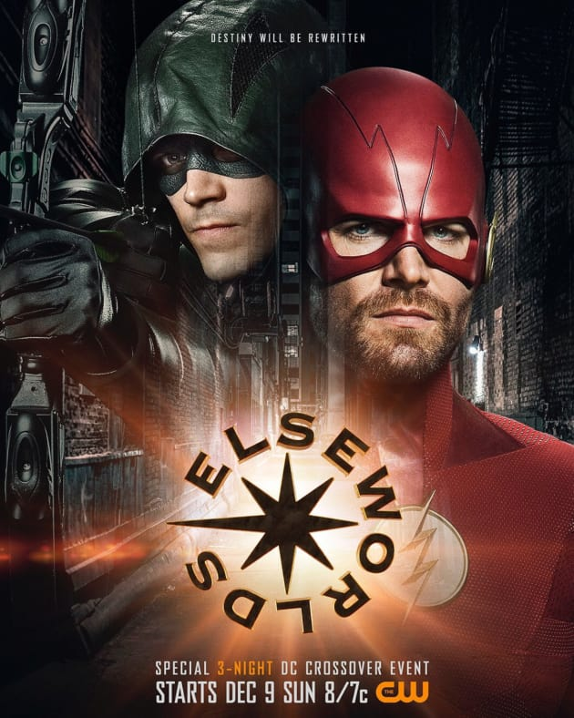 Elseworlds Crossover Poster - The Flash