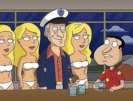 Hugh Hefner on Family Guy