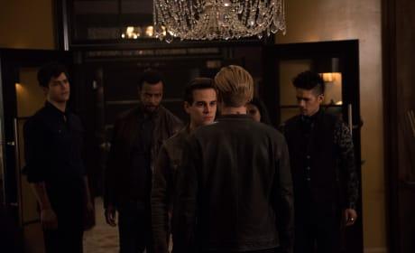 Confronting The Owl Demon - Shadowhunters Season 3 Episode 8