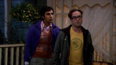 Leonard and Raj Listen