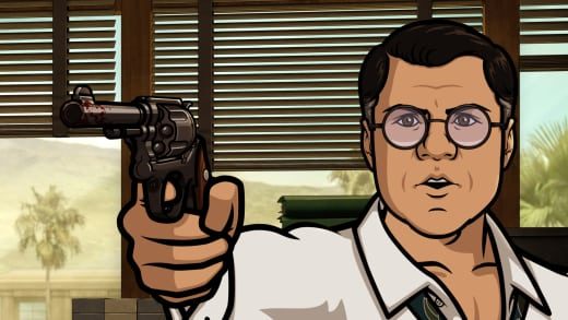 Cyril is Angry - Archer Season 8 Episode 5