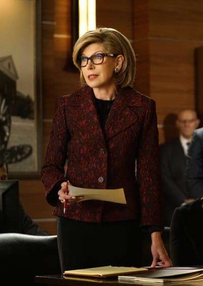 Diane at Work - The Good Fight Season 1 Episode 3
