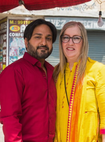 Jenny and Sumit for Season 3 - 90 Day Fiance: The Other Way