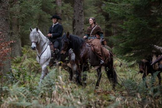 Sharing the Road - Outlander Season 4 Episode 3