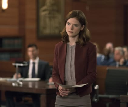 Maia Rindell in Court - The Good Fight