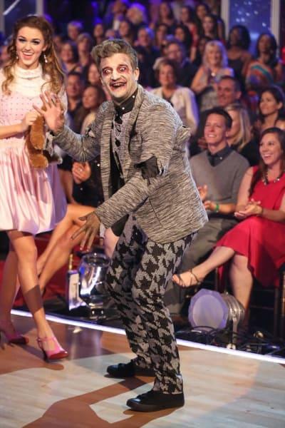 Mark Ballas During Halloween Week on Dancing with the Stars Season 19 Episode 9