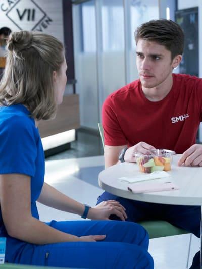 Wolf Needs Advice - Nurses Season 1 Episode 4