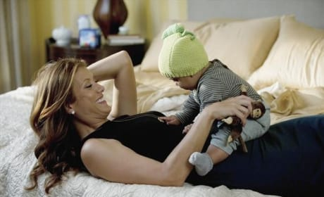 Addison and Her Son