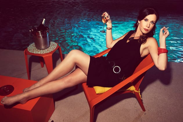 Diana Lounging in Promotion Photo - American Woman