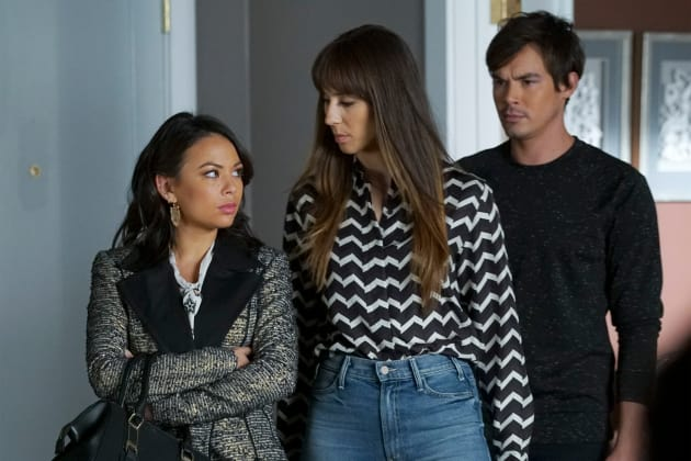 What You Doing Here? - Pretty Little Liars Season 7 Episode 18