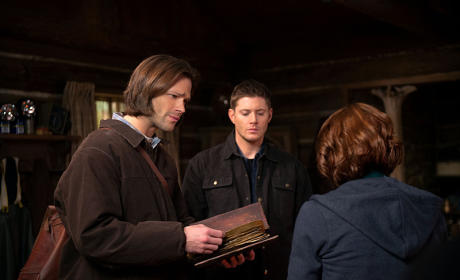Sam, Dean and Charlie - Supernatural Season 10 Episode 18
