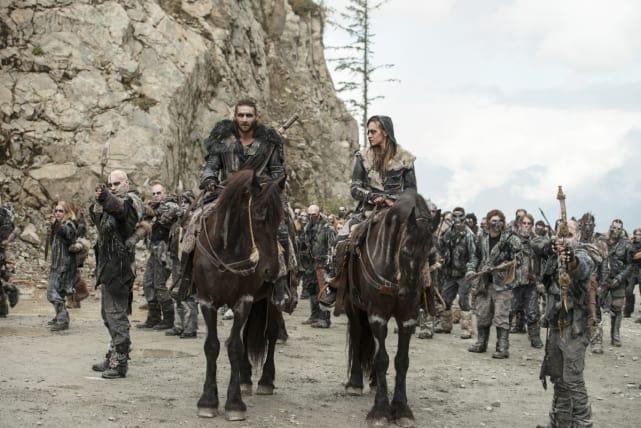 Roan's Army – The 100 Season 4 Episode 5