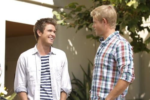 Ian and Teddy