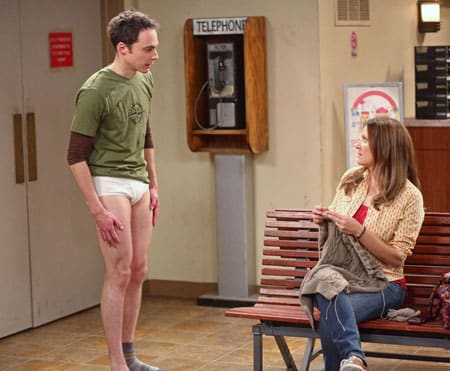 Sheldon in Underwear - The Big Bang Theory