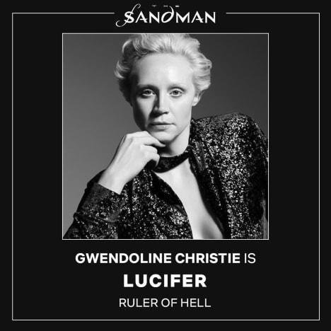 Gwendoline Christie for Netflix