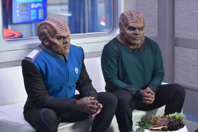 Waiting for Results - The Orville Season 2 Episode 2