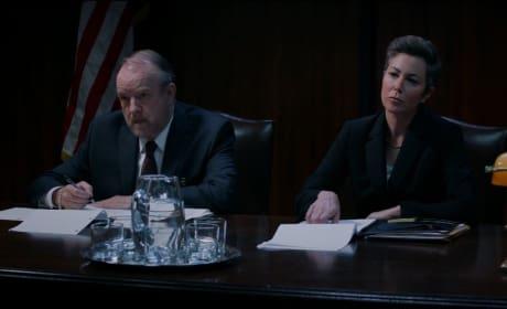 Criminal Minds: Beyond Borders Sneak Peek: Simmons Grilled by Supernatural Hunters?!?