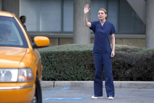 Meredith Waves Goodbye