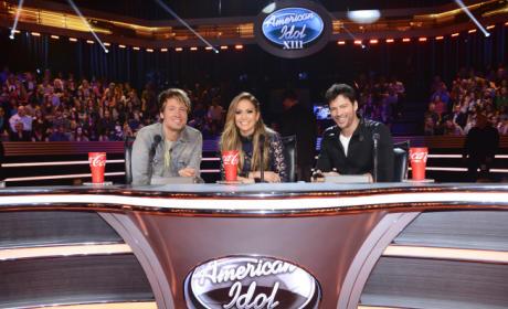 Judges on Top 13 Night
