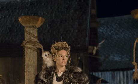 Queen Lagertha - Vikings Season 4 Episode 18