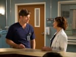 Amelia and Link  - Grey's Anatomy Season 15 Episode 25