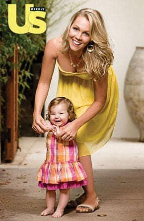 Jennie Garth, Daughter