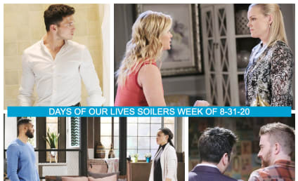 Days of Our Lives Spoilers Week of 8-31-20...And Beyond: In With The New