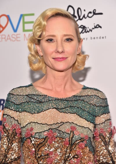 Anne Heche Attends Event