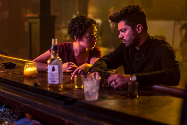 Having a Drink - Preacher Season 2 Episode 7