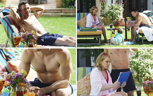 Shirtless jack porter revenge season 4 episode 21
