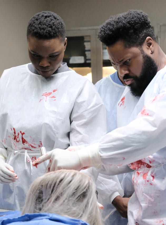 Bloody Valentine's Day - Tall - The Resident Season 2 Episode 14