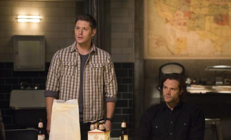 Sam and Dean are concerned - Supernatural Season 12 Episode 14