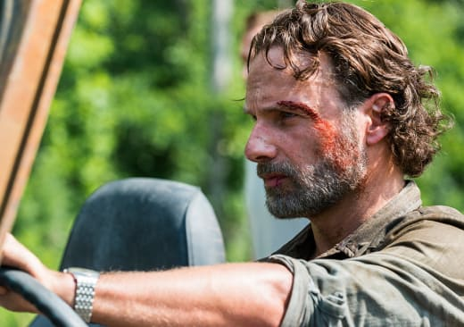 Cruising Rick - The Walking Dead Season 8 Episode 4