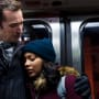 Noah and Aliyah as Father and Daughter - The Red Line