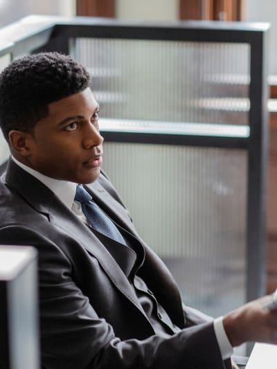 Derrick is DONE - Tall  - Pearson Season 1 Episode 5